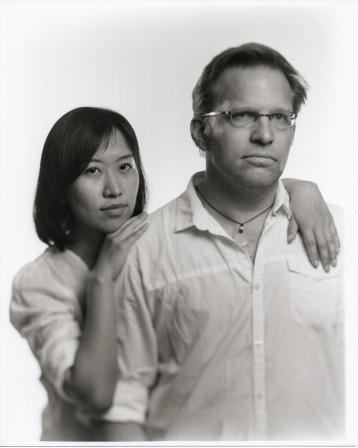 black and white film portraits dark silver